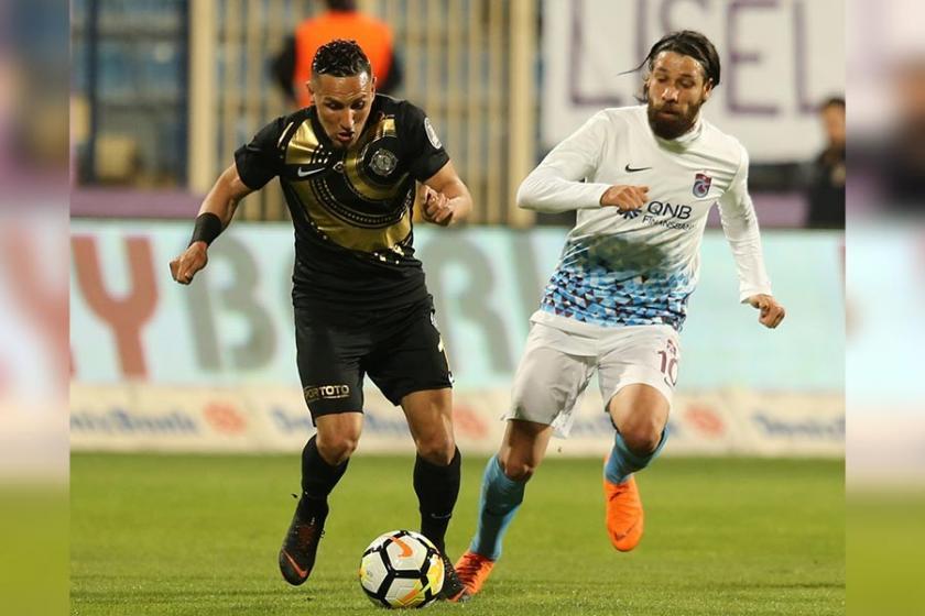 Osmanlıspor karşısında öne geçen Trabzonspor skoru koruyamadı: 3-3