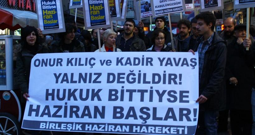 Samsun BHH tutuklamaları protesto etti