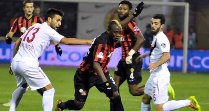 Eskişehirspor - Balıkesirspor: 2-2