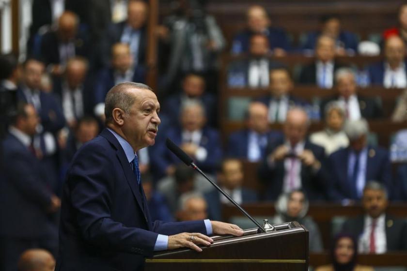 Erdoğan bir kez daha OHAL'i grev yasaklarıyla savundu