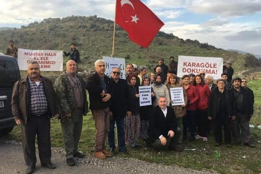 Menemen'e bağlı Çaltı'daki taş ocağı projesi iptal edildi