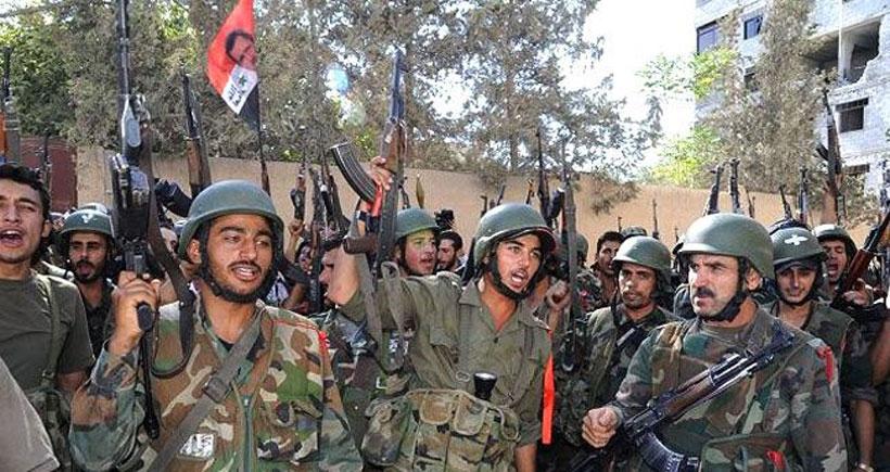 Suriye ordusu güney cephesinde ilerleyişini sürdürüyor