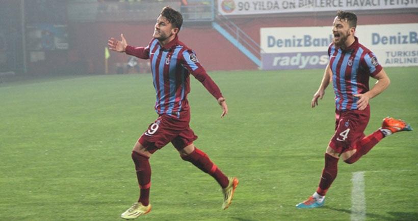 Trabzonspor haftayı 3 puanla kapattı