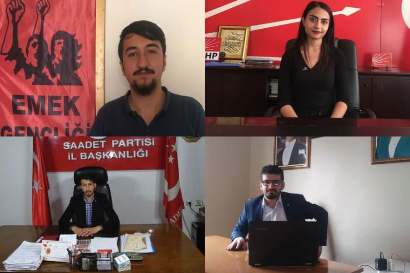 Türkiye gençliğini  geleceğini kurmaya ve mücadeleye çağırıyoruz!