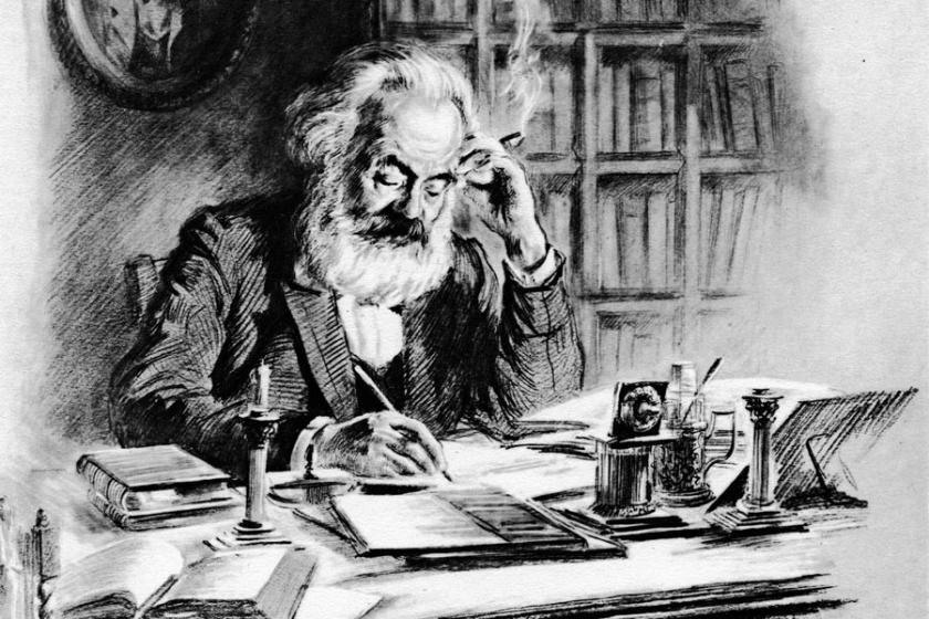 Bir kişi: Karl Marx, bir kavram: artı-değer