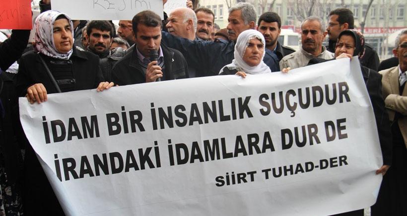 Siirt ve Yüksekova'da Naseem'in idamının durdurulması istendi