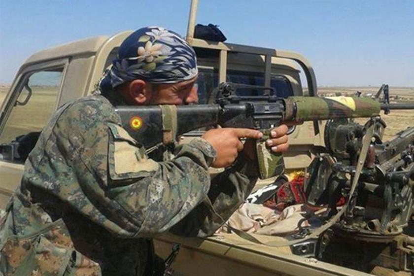 YPG'den cihatçı grupların kontrolündeki 3 bölgeye saldırı