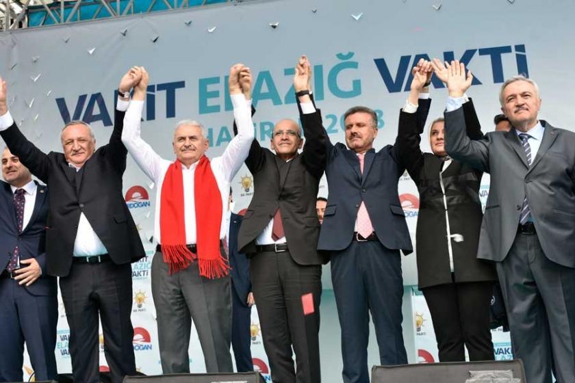 'AKP Elazığ Milletvekili Adayı seçmeni tehdit etti'