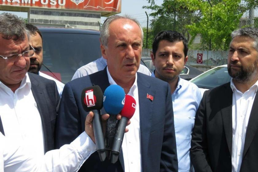 Muharrem İnce, Enis Berberoğlu'yu ziyaret etti