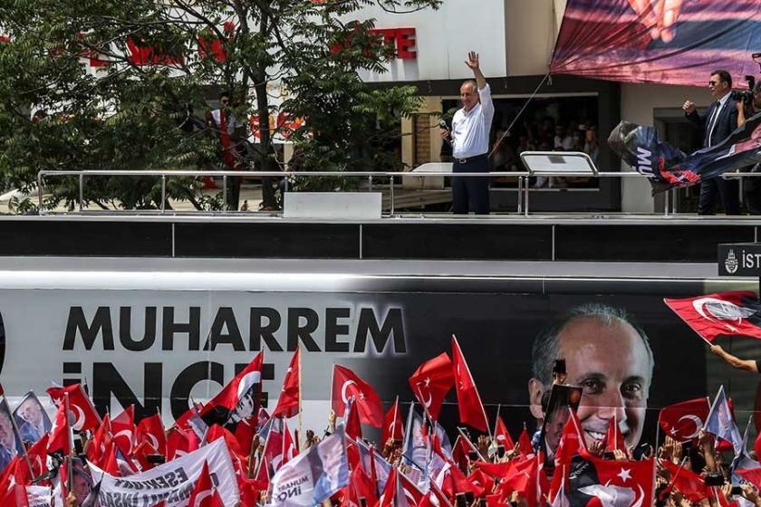 Muharrem İnce: Erdoğan gelirse bu krizi atlatamaz