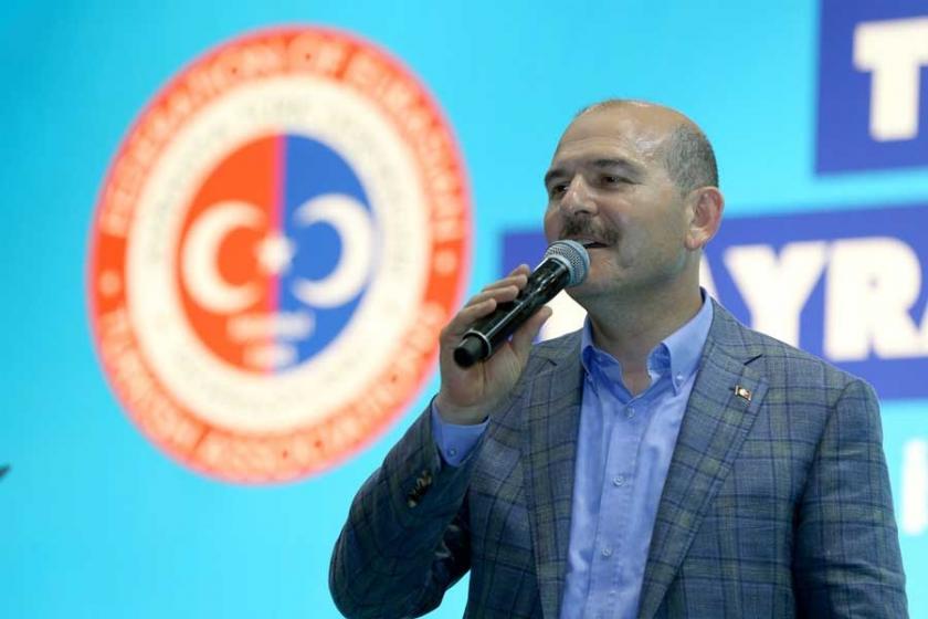 Soylu, bu kez Kaftancıoğlu'yu hedef aldı: Şehide küfretti