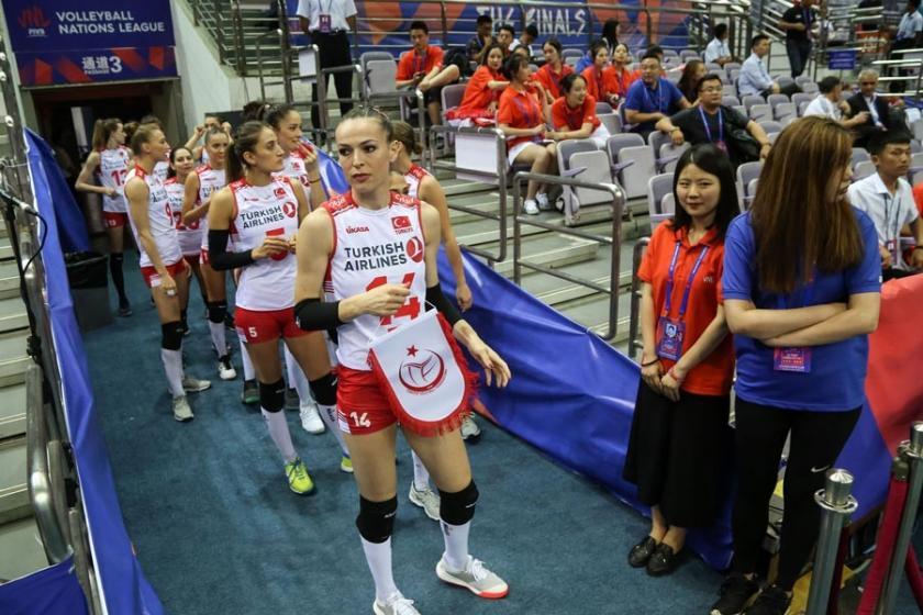A Milli Kadın Voleybol Takımı, FIVB Uluslar Ligi'ni 2. tamamladı