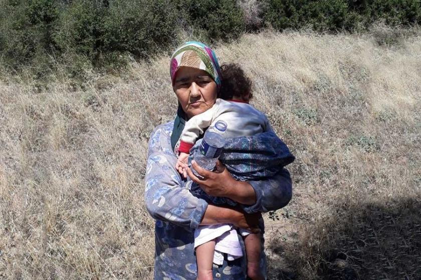 Tire'de kaybolan 1,5 yaşındaki R.Ç. ve anneannesi bulundu