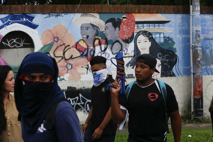 Nikaragua'da hükümet karşıtı eylemler devam ediyor
