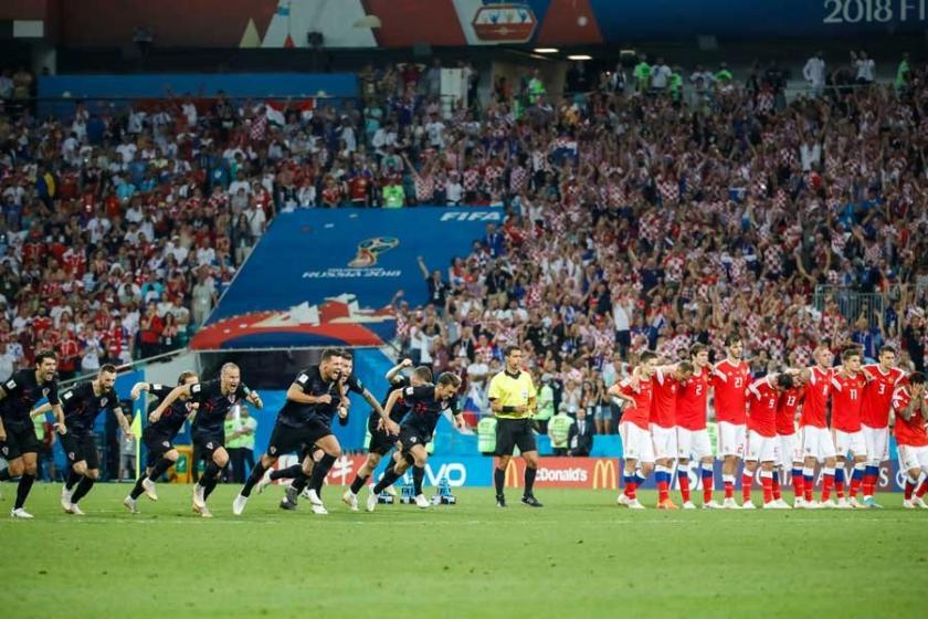 2018 Dünya Kupası'nda çeyrek final maçları tamamlandı