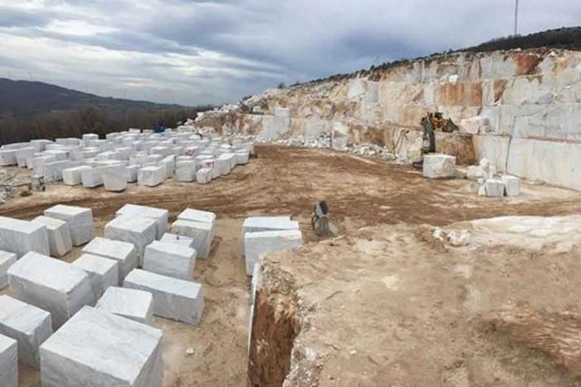 İzmir ve Manisa'da mermer ocakları için yüzlerce ağaç kesilecek