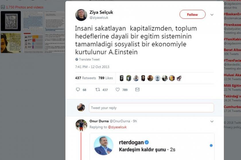 Milli Eğitim Bakanı Ziya Selçuk, eski paylaşımlarıyla dikkat çekti
