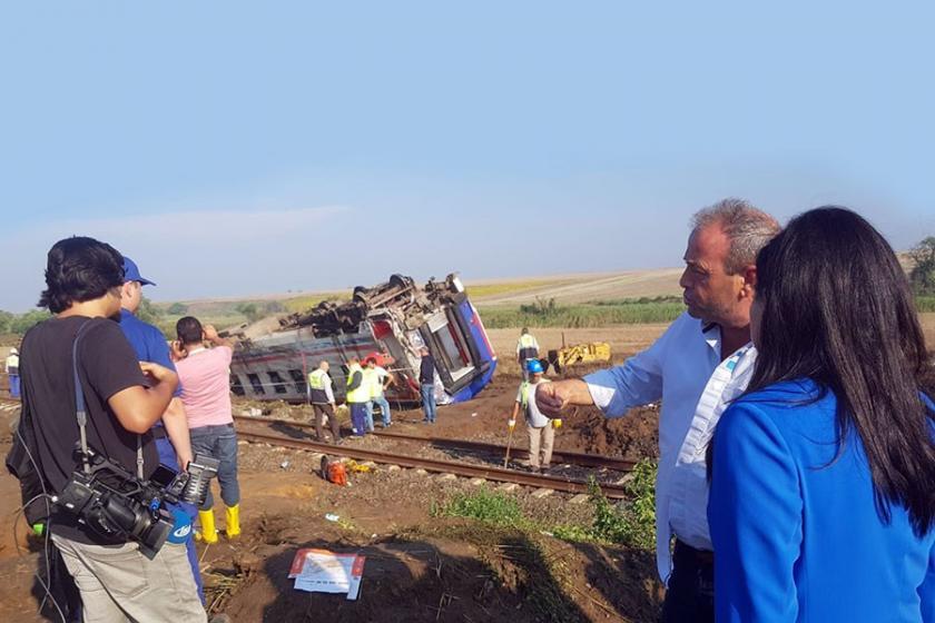 CHP'li 20 vekilden tren kazası için önerge: Gerçek neden araştırılsın