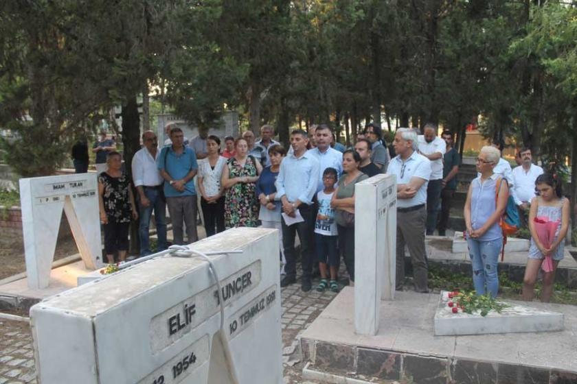 Adana'da Beşler mezarları başında anıldı