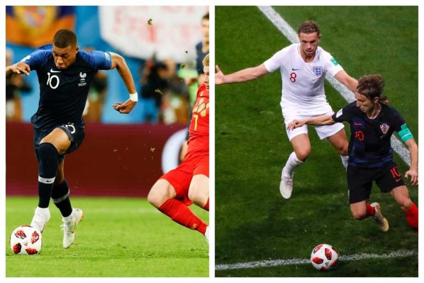 2018 Dünya Kupası'nda Fransa-Hırvatistan finaline ilk bakış