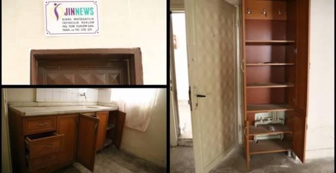Jin News'in Diyarbakır bürosuna polis baskını