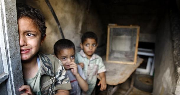Savaşta çocuk olmak