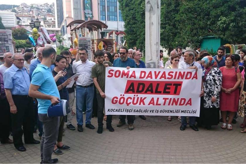 Kocaeli'de Soma eylemi: Emek cephesi olmadıkça bu cinayetler sürer