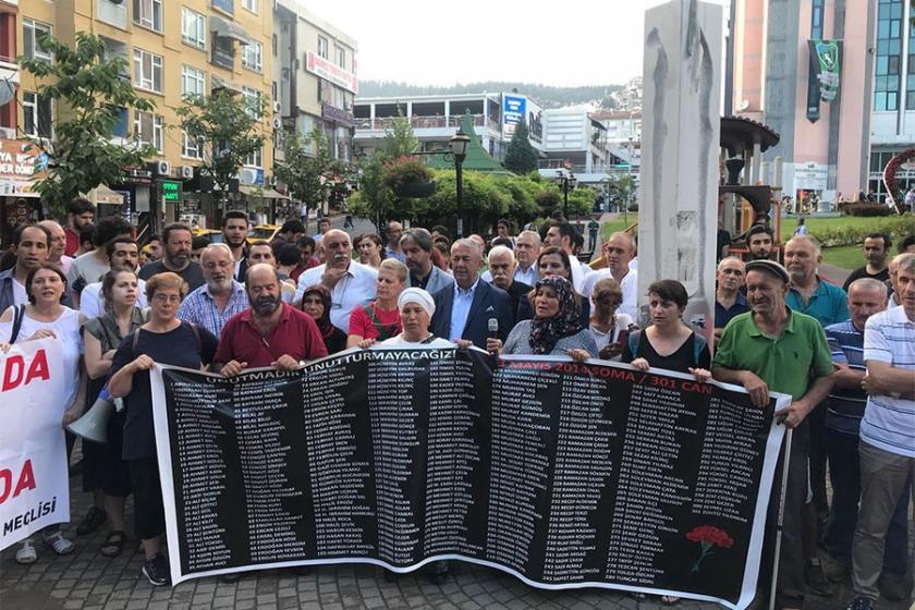Yakınlarını kaybeden işçi aileleri: Bizi bir kez daha yakacaklar