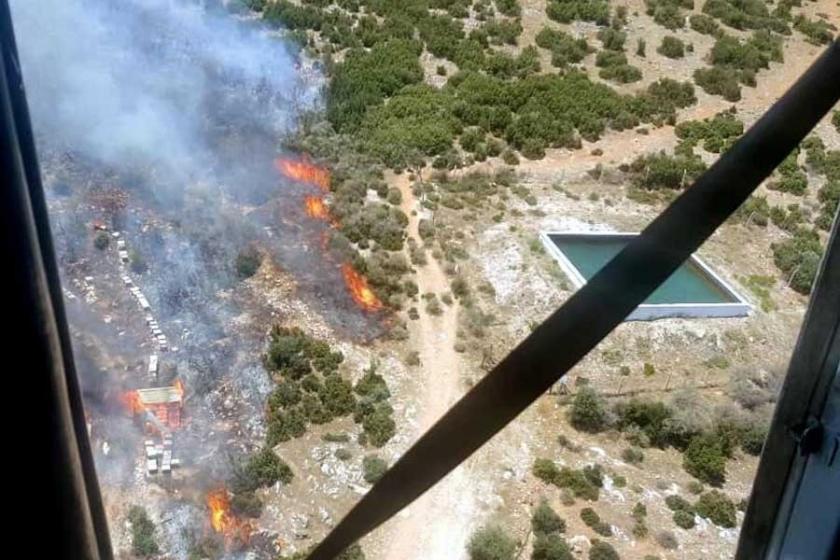 Ege ve Akdeniz'de orman yangınları