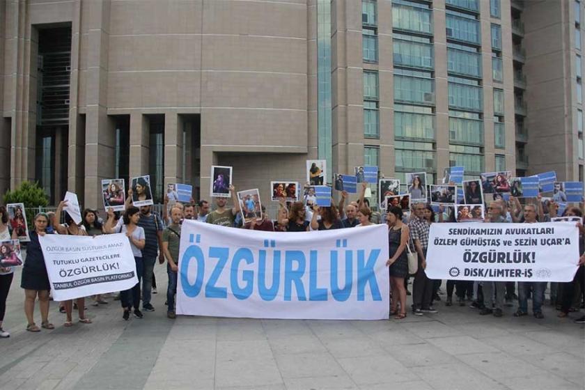 EHB avukatları ve gazetecilerin yargılandığı davada 5 tahliye kararı