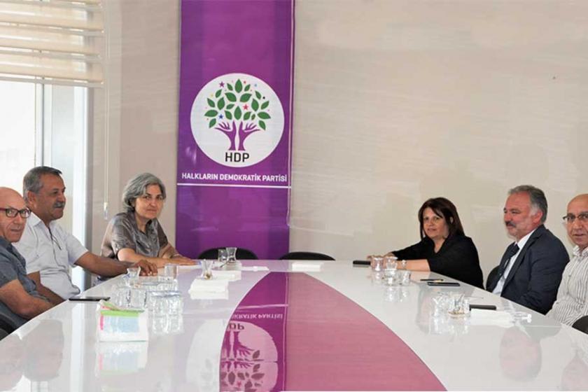 EMEP heyeti HDP'yi ziyaret etti