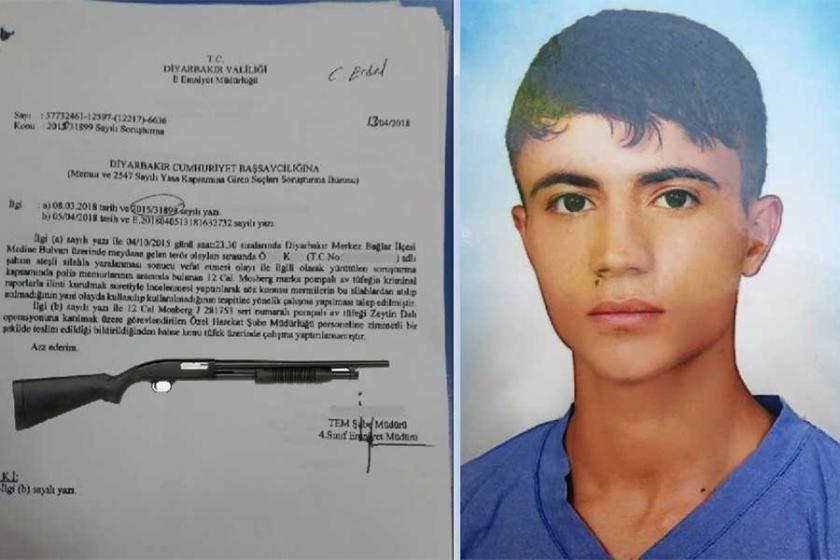 İncelenmesi gereken av tüfeği Afrin'e götürülmüş