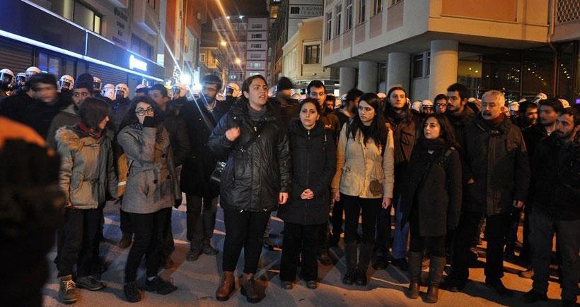 TÜRGEV'i protesto edenlere soruşturma
