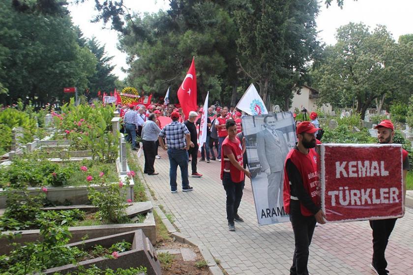Kemal Türkler katledilişinin 38. yılında mezarı başında anıldı