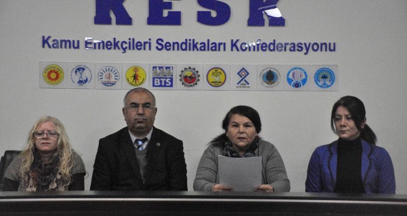 KESK: 6 ayda 705 üyemiz sürgün edildi