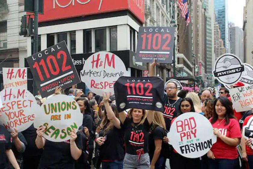 H&M, New York'ta protesto ediliyor