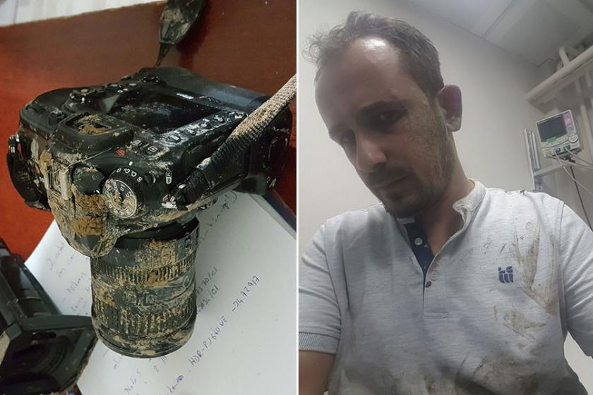 Kütahya'da gazeteciye saldırı
