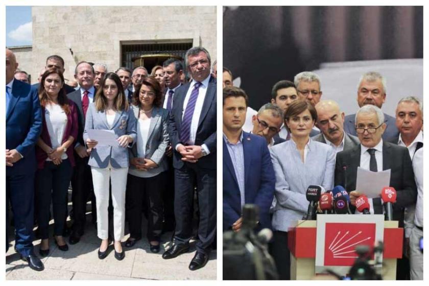 CHP'li 129 vekil ve 59 il başkanından Kılıçdaroğlu'ya destek