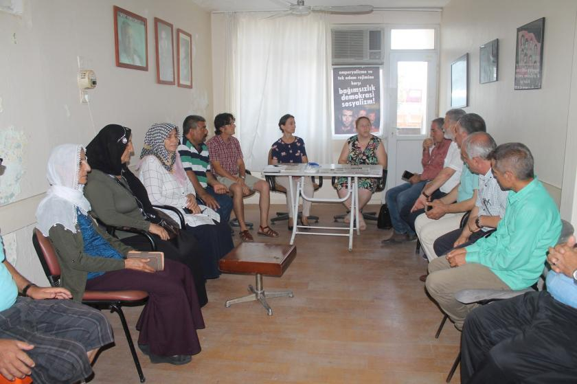HDP Milltvekilleri EMEP Adana İl örgütünü ziyaret etti