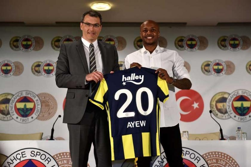Andre Ayew resmen Fenerbahçe'de