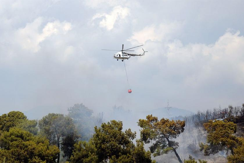 Antalya ve Mersin'de orman yangını