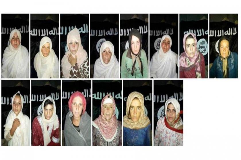 IŞİD, Suriye'de 14 kadın ve kız çocuğunu kaçırdı