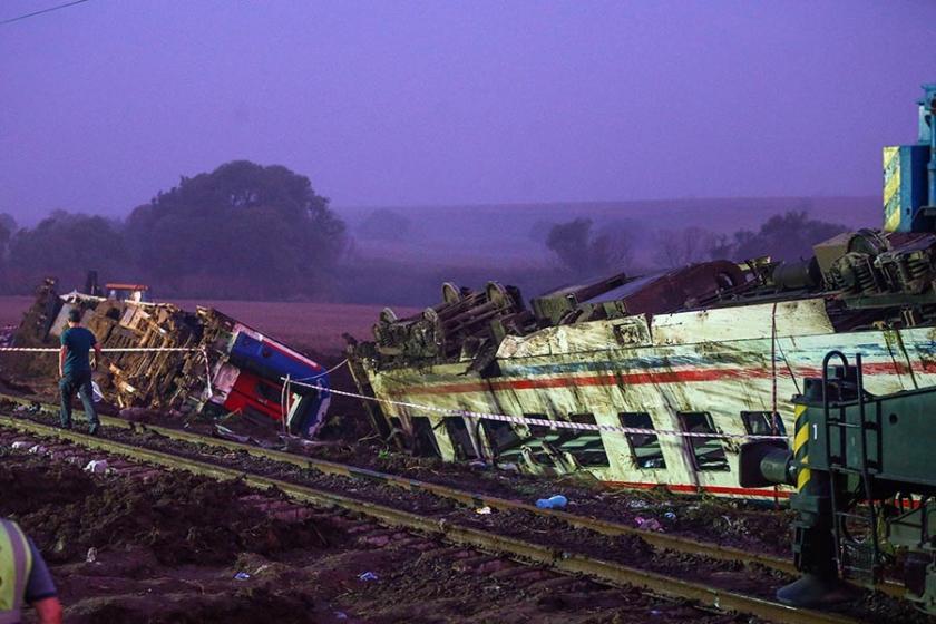 Çorlu tren kazasının bilirkişisi TCDD'den ihale almış