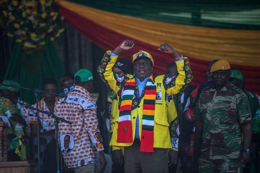 Zimbabve'de seçimi mevcut Devlet Başkanı Mnangagwa kazandı