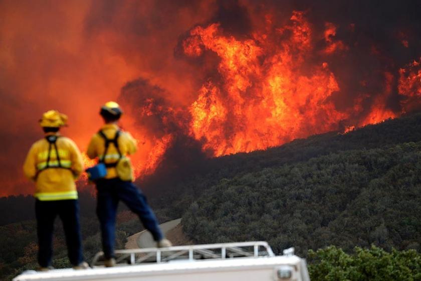 ABD'nin Kaliforniya eyaletindeki yangına dair yeni tahliye emri