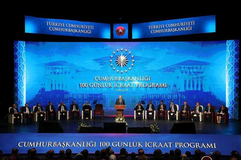Erdoğan 100 günlük eylem planı açıkladı, 'yastık altı' çağrısı yaptı