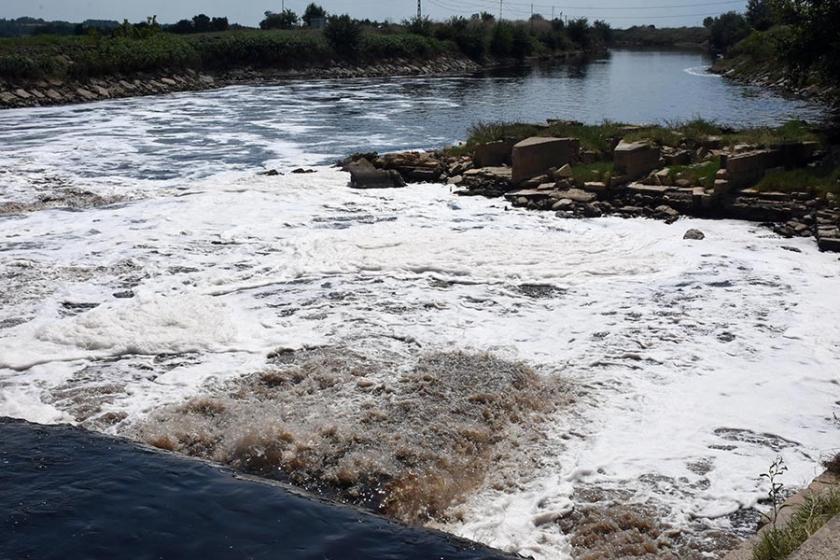 Ergene Nehri taştı, iki köy yolu ulaşıma kapandı