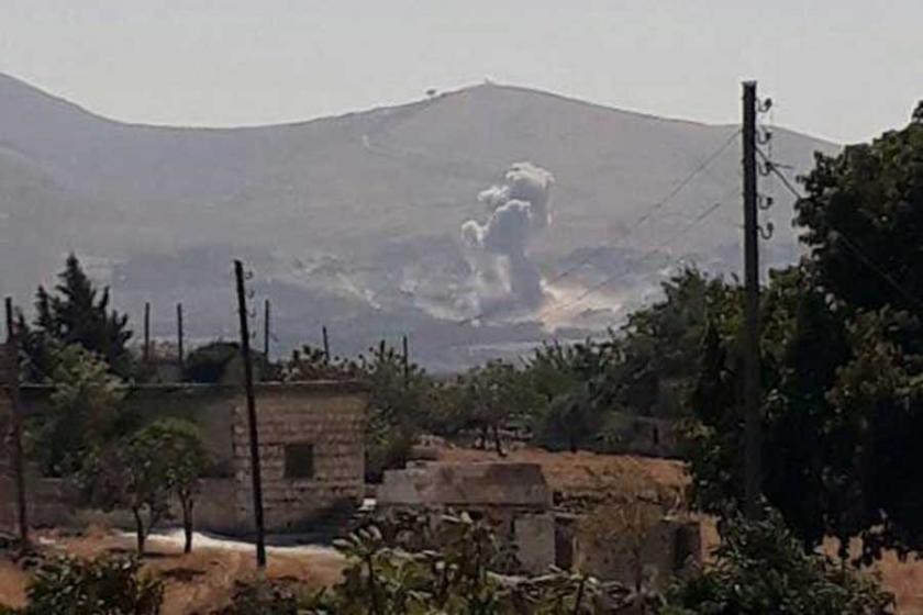 Rusya ve Suriye ordusu İdlib'e hava saldırısı düzenledi