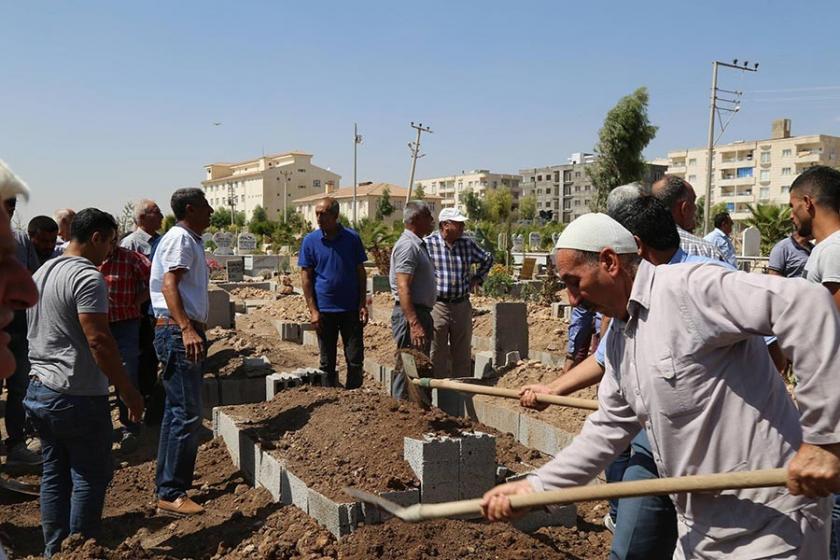 Mardin'de cenazeye güvenlik soruşturması