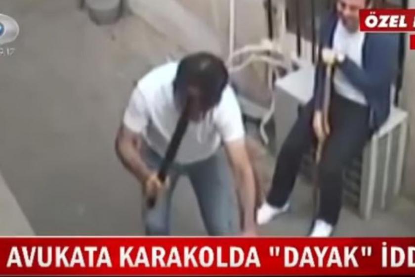 Komiser, kadın avukatı dövüp silah doğrulttu!